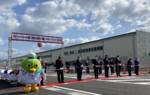 都市計画道路葭津和田町線開通式典運営管理